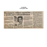 La Nación Mandatario reitera oposición a ayuda para antisandinistas.pdf