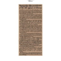 Uno mas Uno Demandan diez presidentes el fin de apoyo a contras.pdf