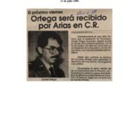 El próximo viernes Ortega será recibido por Arias en CR..pdf