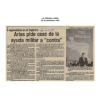 La Prensa Libre Arias pide cese a la ayuda militar a contra.pdf