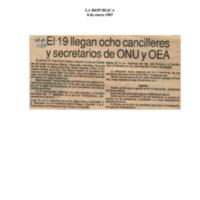 La República El 19 llegan ocho cancilleres y secretarios de la ONUy OEA.pdf