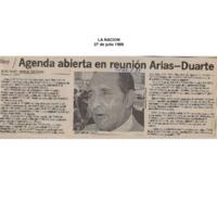 La Nación Agenda abierta en reunión Arias-Duarte.pdf