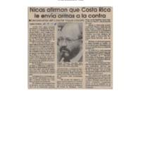 La República nicas afirman que Costa Rica le envía armas a la contra.pdf