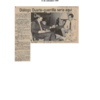 La Prensa Libre Diálogo Duarte Guerrilla sería aquí.pdf